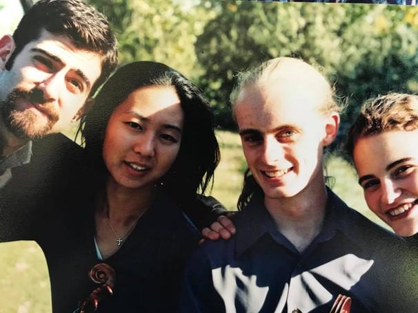 Fall 2000 in Grand Forks, ND during the quartet's CMA Rural Residency Program