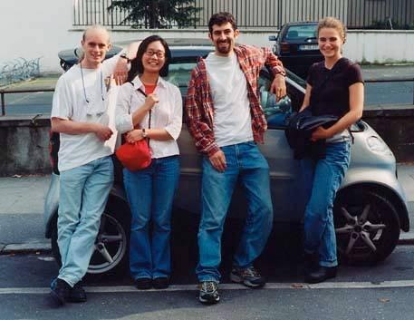Summer 2000 at the Schleswig Holstein Festival