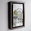 Thumbnail: Path Under the Trees Etched Nickel Wall Art with Hardwood Box Frame