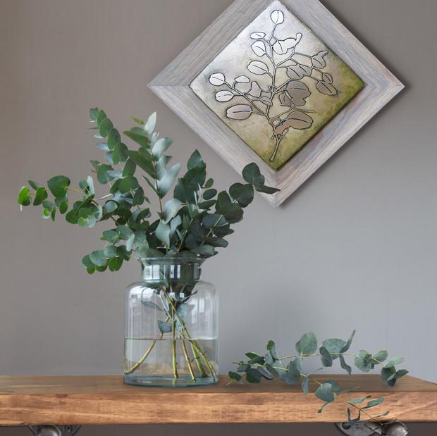 Rustic Cedar Frame Collection eucalyptus