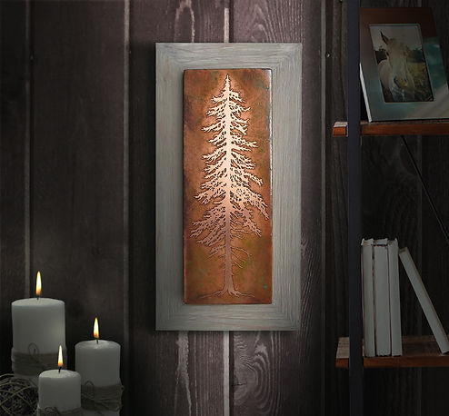 Tall Pine Etched Copper Wall Art.jpg
