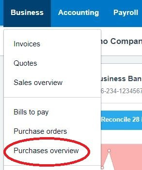 How to create a batch payment on Xero