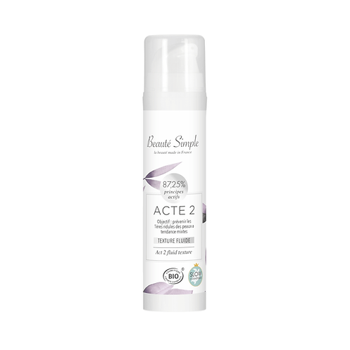 Moisturizing cream - Act 2 - Normal to combination skin, dehydrated
