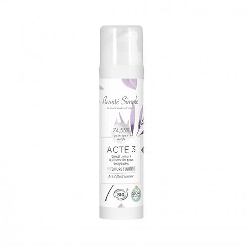 Moisturizing Cream Act 3 - Normal to dehydrated mature skin
