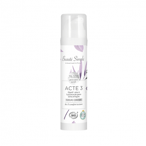 Moisturizing Cream Act 3 - Comfort Texture