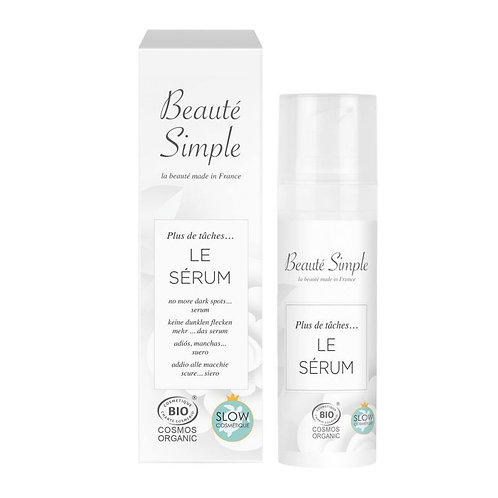The serum no longer stains