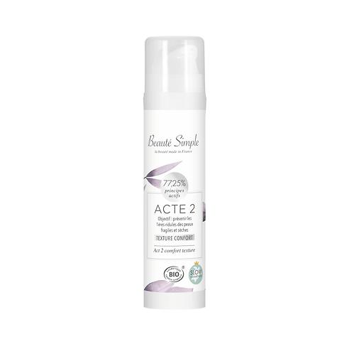 Crème hydratante - Acte 2 -Texture confort