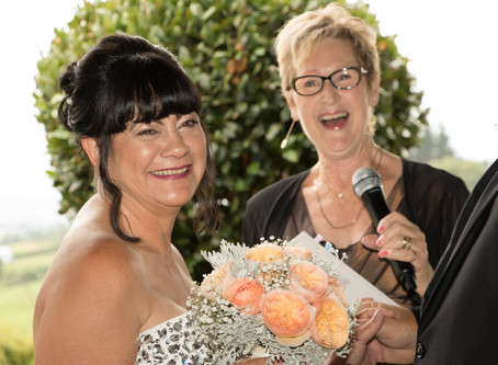 A fun loving moment Viv! Such a wonderful day for me as your Celebrant to be part of :)