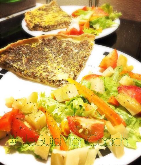 Quiche Saumon - Lentille