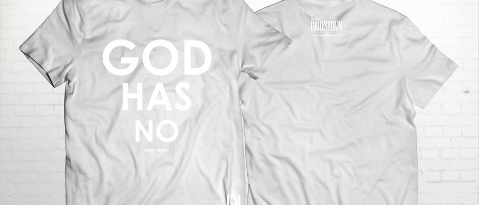 God Has No Fine Print