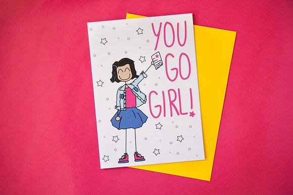 KKC009 You Go Girl (Roan)