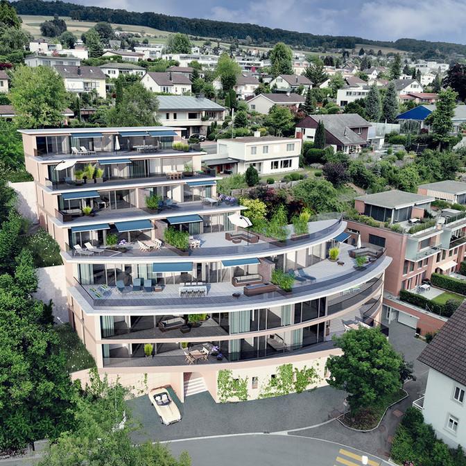 Wohnüberbauung in Niederrohrdorf