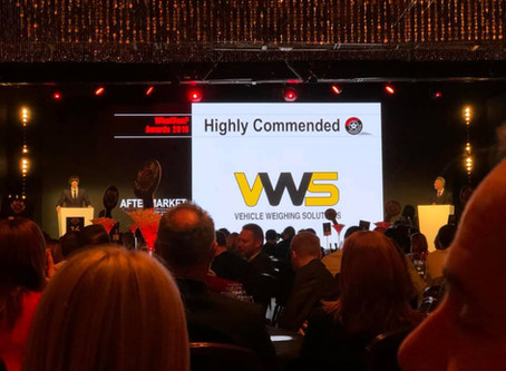 Vehicle Weighing Solutions receives Highly Commended for VOPS 2 at What Van Awards 2019
