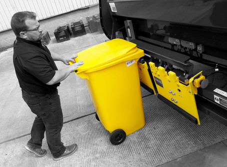 Live bin-weighing and software system demonstrations at Letsrecyclelive