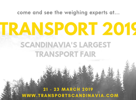 Come and see #theweighingexperts at Transport 2019