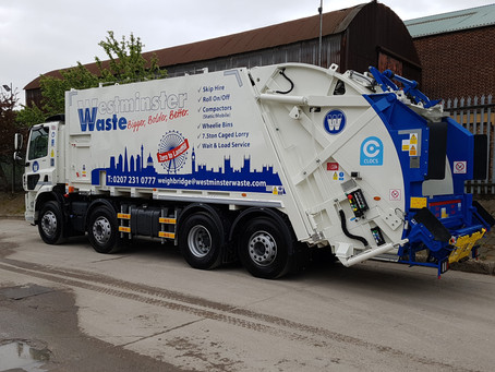 Westminster Waste Confirms Bin Weighing Standard on Fleet