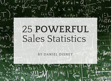 25 Powerful Sales Statistics