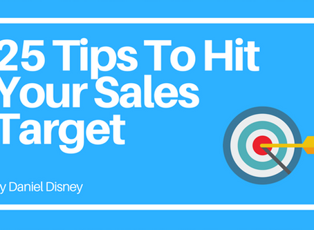 25 Tips To Hit Your Sales Targets