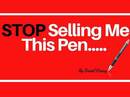 STOP Selling Me This Pen!!
