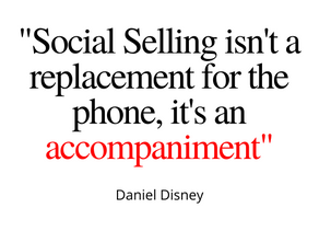 Social Selling Won't REPLACE The Phone...