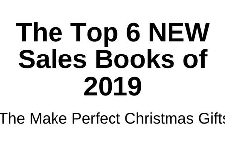 The Top 6 New Sales Books 2019 (That Make Perfect Christmas Gifts!)