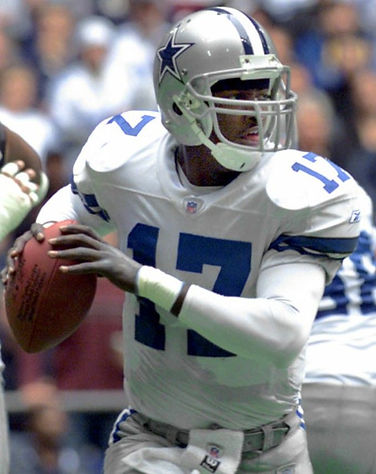 Quincy Carter Dallas Cowboys QB Training Austin