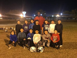 Youth group from QB training session in Austin Texas
