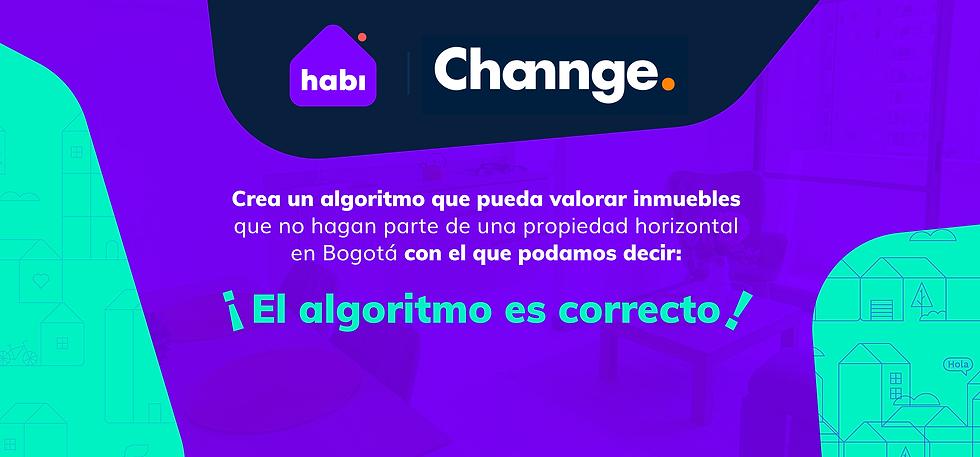 Channge| Reto El algoritmo es correcto | Colombia