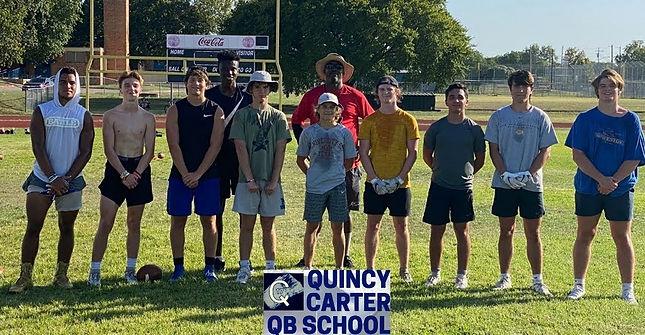 QB training camp in Austin, Texas