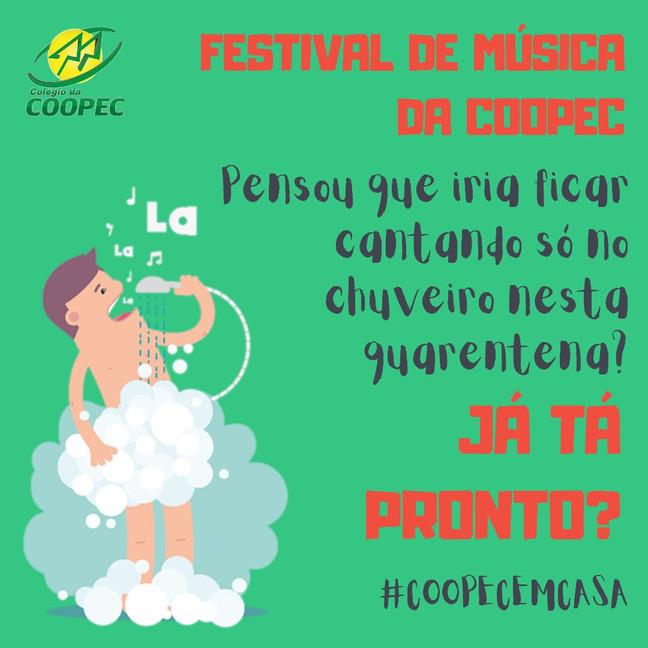 Participe do Festival de Música da COOPEC!!
