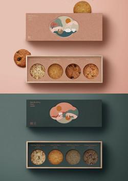 Luxury Cookies Rigid Packaging Boxes manufacturer | Rigid Box Manufacturer for Cookies