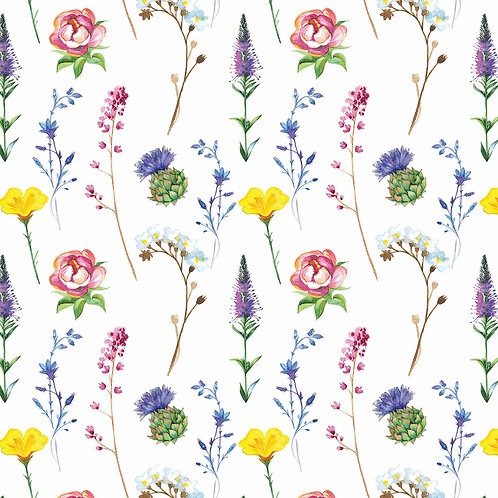 Little Wildflower Nappy Clutch