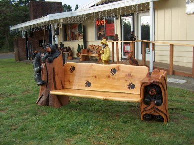 Stump Bench