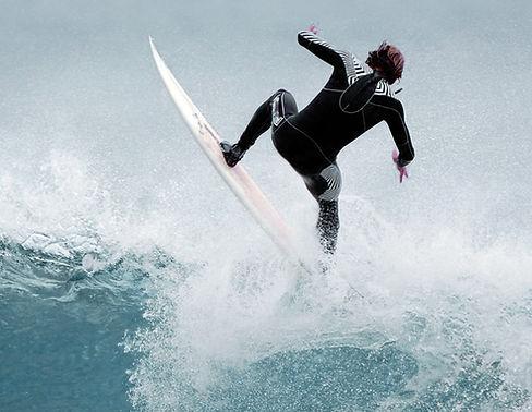 Surfer on street artist and graphic designer Ivan Preciado website.
