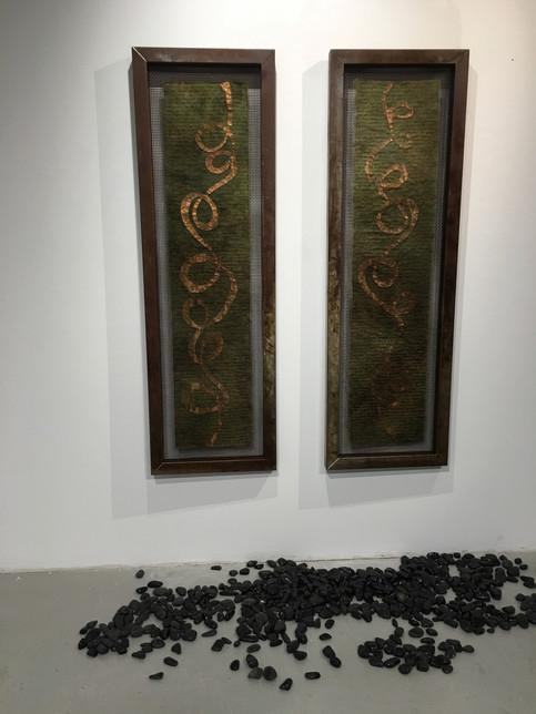 Fading Memories of Journeys Past, 2016 (installation)