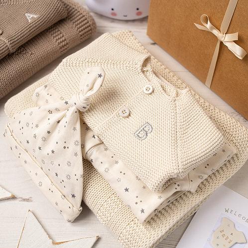 Little Star Cream Baby Gift Box