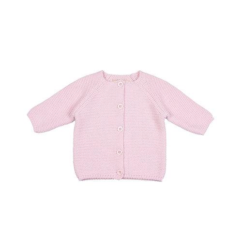 Toffee Moon Cradle Pink Bubble Baby Cardigan