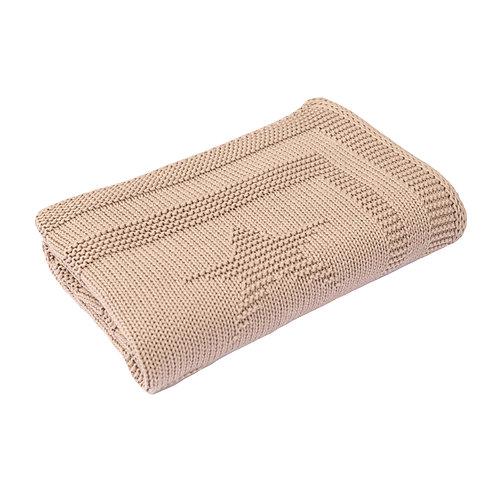 Fudge Star Baby Blanket