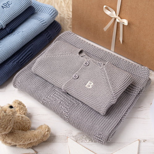 Little Star Hound Grey Baby Gift Set