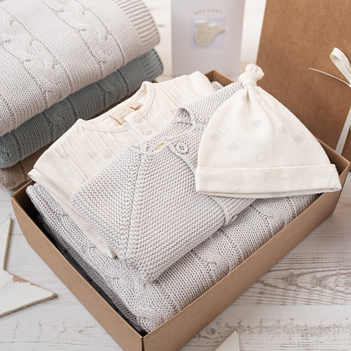 Little Clouds Baby Shower Unisex Gift Box