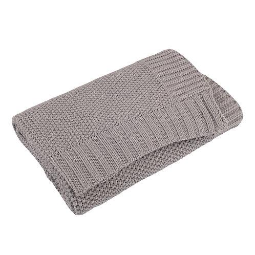 Hound Grey Moss Baby Blanket