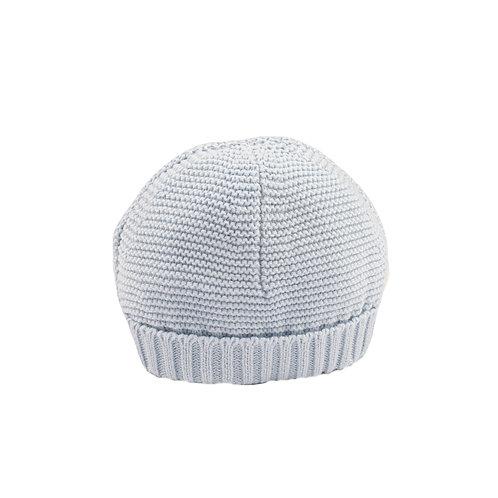 Pale Blue Bubble Baby Hat