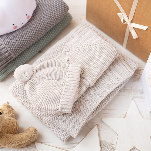 Moss Baby Knitted Gift Set