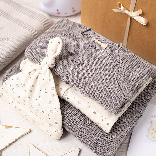 Little Star Hound Grey Baby Gift Box
