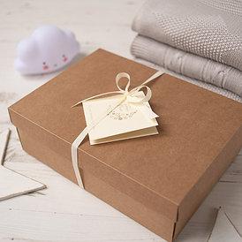 Brown Kraft Gift Box