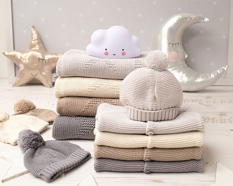 2021 Toffee Moon Baby Knitted Gift Sets-