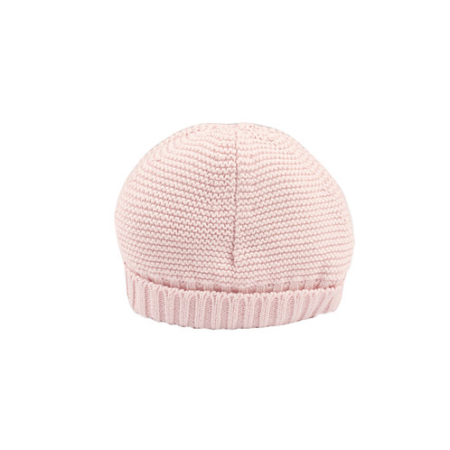 Toffee Moon Pale Pink Bubble Baby Hat cut out