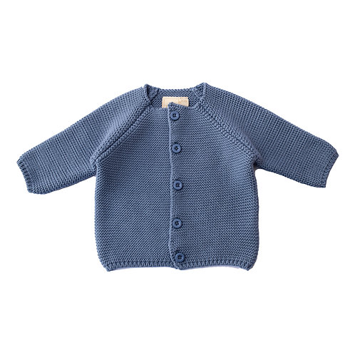 Storm Blue Bubble Baby Cardigan
