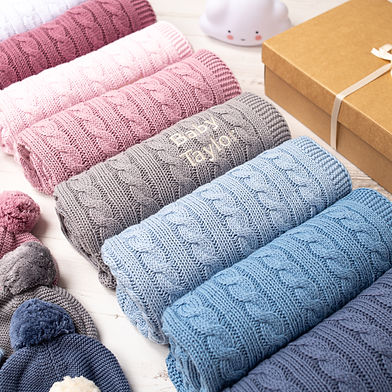 Toffee Moon Cable Personalised Baby Blankets-5.jpg
