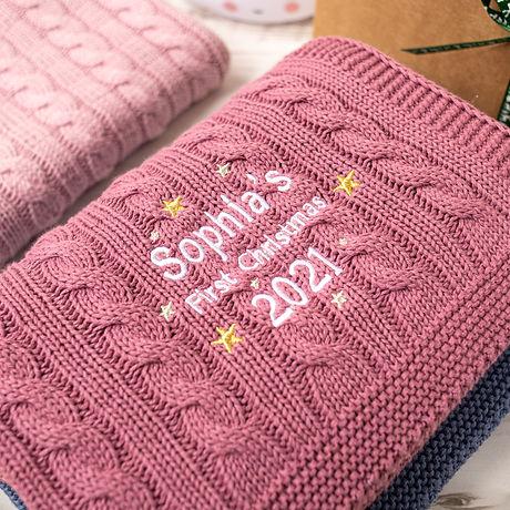 2021 Toffee Moon Baby First Christmas Peronalised Baby Blanket-10.jpg